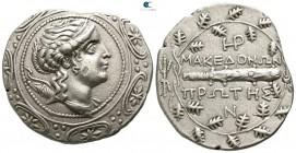 Macedon. Amphipolis. Under Roman Protectorate. Republican period. First Meris circa 167-149 BC. Tetradrachm AR