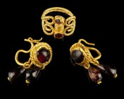 Late Roman Jewellery Ensemble