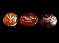 Lot of 3 Roman Gems/Intaglios