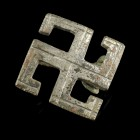 Roman Swastika Brooch