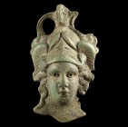 Roman Helmeted Bust of Minerva
