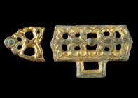 Avar Gilded Belt Mounts