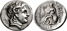 KINGS OF THRACE. Lysimachos, 305-281 BC. Tetradrachm (Silver, 31 mm, 16.80 g, 7 h), Parion, circa 297/6-282/1 BC. Diademed head of Alexander the Great...