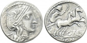 EASTERN EUROPE. Imitations of Roman Republican. Eravisci (After 75 BC). Denarius. Imitating C. Thalna.