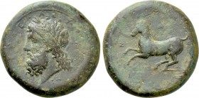 SICILY. Syracuse. Timoleon and the Third Democracy (344-317 BC). Ae Dilitron.