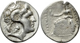 KINGS OF THRACE (Macedonian). Lysimachos (305-281 BC). Tetradrachm. Uncertain mint, possibly Kios.