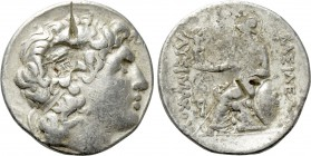 KINGS OF THRACE (Macedonian). Lysimachos (305-281 BC). Tetradrachm. Uncertain mint.