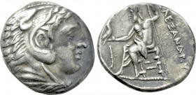 KINGS OF MACEDON. Alexander III 'the Great' (336-323 BC). Tetradrachm. Amphipolis. Possible lifetime issue.