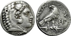 KINGS OF MACEDON. Alexander III 'the Great' (336-323 BC). Drachm. Uncertain mint in Macedon or Miletos. Lifetime issue.