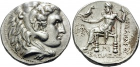 KINGS OF MACEDON. Alexander III 'the Great', 336-323 BC. Tetradrachm (Silver, 25 mm, 17.19 g, 4 h), struck under Seleukos I, Babylon, c. 311-305. Head...