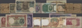 Portugal: huge lot with 45 Banknotes Portugal starting with the early issues from 1891 until the last issued before the Euro dated 1996 with highlight...