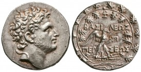 Kings of Macedon. Perseus, 179-168 BC. AR Tetradrachm.(16.79 g, 31.12 mm)