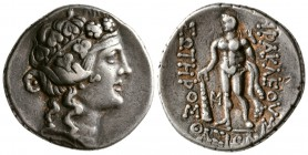 Thrace. Thasos, 148-90/80 BC. AR Tetradrachm.(15.5 g, 28.9 mm)