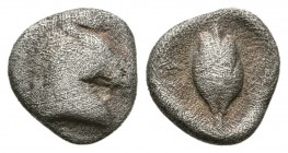 Thessaly, Thessalian League, 470-460 BC. AR Obol. (0.7g,9.5mm)