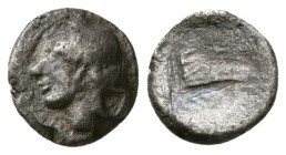 THESSALY, Larissa. 479-460 BC. AR Obol (0.8g, 9.3mm). 