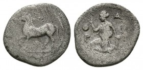 Thessaly, Larissa. 460-440 BC. AR Obol. (0.8g 11.6mm)