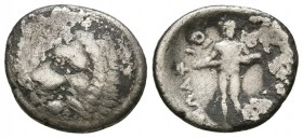 THESSALY, Oetaei. 196-146 BC. AR Hemidrachm (2.1g 13.51mm). 