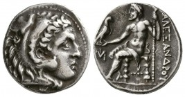 Ionia, Miletos.Circa 295-275 BC. AR Drachm (4.2 g, 18.50 mm)
