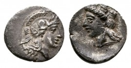 CILICIA, Holmoi. Circa 380-375 BC. AR Hemiobol (0.3g 8.0mm). 