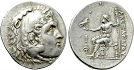 KINGS OF MACEDON. Alexander III 'the Great' (336-323 BC). Tetradrachm. Phaselis. Dated CY 10 (209/8 BC).