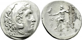 KINGS OF MACEDON. Alexander III 'the Great' (336-323 BC). Tetradrachm. Phaselis. Dated CY 19 (200/199 BC).