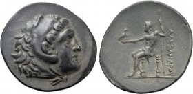 KINGS OF MACEDON. Alexander III 'the Great' (336-323 BC). Tetradrachm. Uncertain mint in Pamphylia.