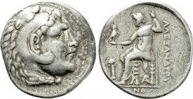 KINGS OF MACEDON. Alexander III 'the Great' (336-323 BC). Tetradrachm. Arados. Dated CY 59 (201/0 BC).