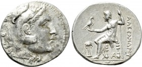 KINGS OF MACEDON. Alexander III 'the Great' (336-323 BC). Tetradrachm. Arados. Dated CY 61 (199/8 BC).