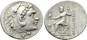 KINGS OF MACEDON. Alexander III 'the Great' (336-323 BC). Tetradrachm. Arados. Dated CY 62 (198/7 BC).