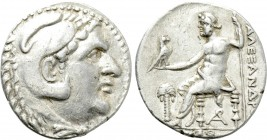 KINGS OF MACEDON. Alexander III 'the Great' (336-323 BC). Tetradrachm. Arados. Dated CY 69 (191/0 BC).