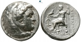 Kings of Macedon. Uncertain mint or Susa (?). Uncertain King circa 323-280 BC. In the name and types of Alexander III of Macedon. Tetradrachm AR