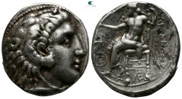 "Kings of Macedon. Uncertain mint in Southern Asia Minor. Alexander III ""the Great"" 336-323 BC. Struck circa 320-280 BC. Tetradrachm AR"