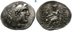 Thrace. Mesembria circa 225-175 BC. In the name and types of Alexander III of Macedon. Tetradrachm AR