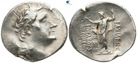 Kings of Bithynia. Nikomedes III Euergetes 127-94 BC. Dated 170 BE=128/7 BC. Tetradrachm AR