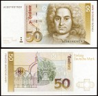 1993. Alemania Occidental. Banco Federal. 50 deutsche mark. (Pick 40c). 1 de octubre, Balthasar Neuman. S/C.