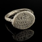 Byzantine Silver Ring