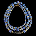 Roman Lapis Necklace