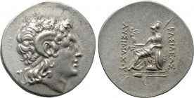 KINGS OF THRACE (Macedonian). Lysimachos (305-281 BC). Tetradrachm. Kalchedon.