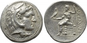 KINGS OF MACEDON. Alexander III 'the Great' (336-323 BC). Tetradrachm. Uncertain mint in Greece and Macedon.