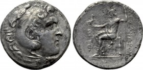 KINGS OF MACEDON. Alexander III 'the Great' (336-323 BC). Tetradrachm. Phaselis. Dated CY 2 (217/6 BC).