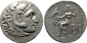 KINGS OF MACEDON. Alexander III 'the Great' (336-323 BC). Tetradrachm. Perge. Dated CY 25 (Circa 197/6 BC).