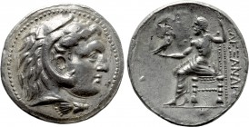 KINGS OF MACEDON. Alexander III 'the Great' (336-323 BC). Fourrée Tetradrachm. Contemporary imitation of uncertain mint.