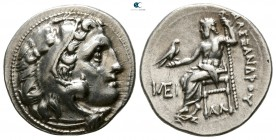 Kings of Macedon. Kolophon. Antigonos I Monophthalmos 320-301 BC. In the name and types of Alexander III of Macedon. Struck circa 319-310 BC. Drachm A...
