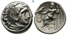 Kings of Macedon. 'Kolophon'. Philip III Arrhidaeus 323-317 BC. In the name and types of Alexander III. Struck under Menander or Kleitos, circa 322-31...