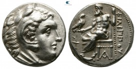 Kings of Macedon. Sardeis. Philip III Arrhidaeus 323-317 BC. In the types of Alexander III. Struck under Menander or Kleitos, circa 322-319/8 BC. Drac...