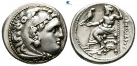 "Kings of Macedon. Magnesia ad Maeandrum. Alexander III ""the Great"" 336-323 BC. Lifetime issue, circa 325-323 BC. Drachm AR"