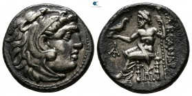 "Kings of Macedon. Uncertain mint or Magnesia ad Maeandrum. Alexander III ""the Great"" 336-323 BC. Struck circa 318-301 BC under Antigonos I Monophthalm..."