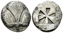 Selinus AR Didrachm, c. 480-460 BC 