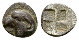 Kyme AR Hemiobol, c. 480-450 BC 