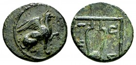 Teos AE13, c. 4th to 2nc century BC 